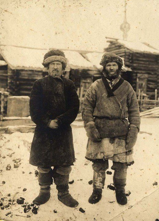 Russian peasants in Siberia, 1911
