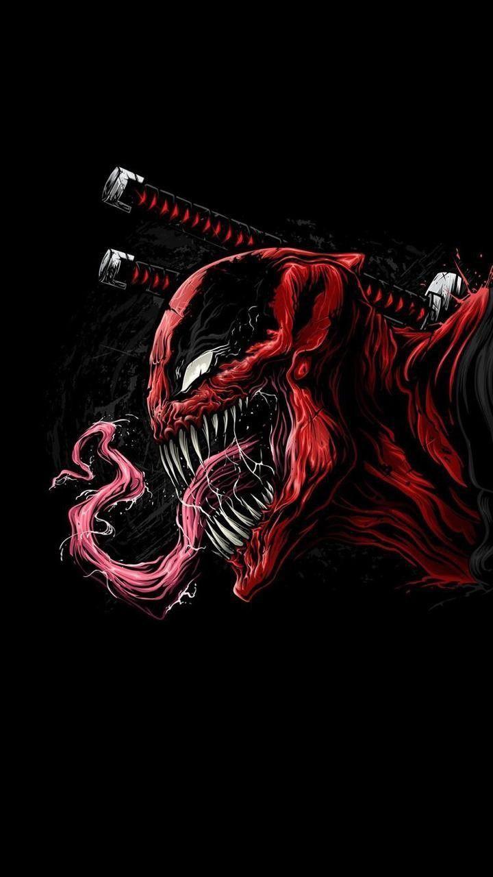 Deadpool Venom Wallpaper Ipcwallpapers In 2020 Deadpool Wallpaper Marvel Comics Wallpaper Deadpool Hd Wallpaper