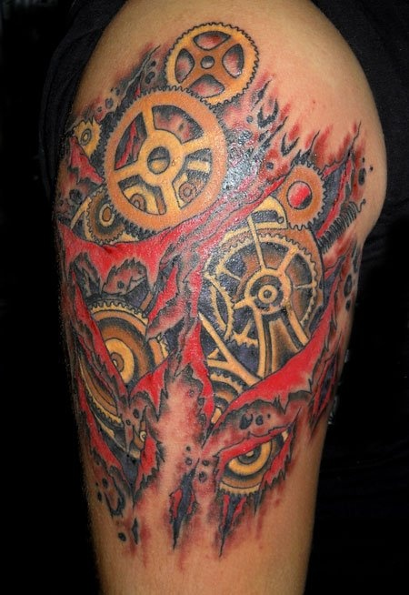 17 best images about gears tattoos on pinterest gear for Tattoo corpus christi