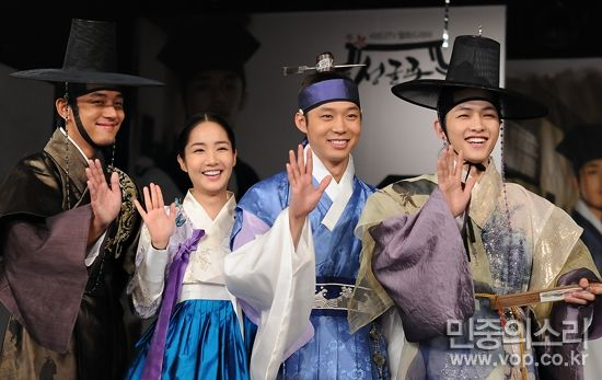 Sungkyunkwan Scandal (Hangul: 성균관 스캔들) is a 2010 South Korean fusion historical drama about a girl who disguises herself as a boy while attending Sungkyunkwan, the Joseon Dynasty's highest educational institute, where no women were allowed. Directed by Kim Won-seok and written by Kim Tae-hee based on Jung Eun-gwol's bestselling 2007 novel The Lives of Sungkyunkwan Confucian Scholars, it stars Park Yoochun, Song Joong-ki, Yoo Ah-in, and Park Min-young. It aired on KBS2 for 20 episodes. 성균관…