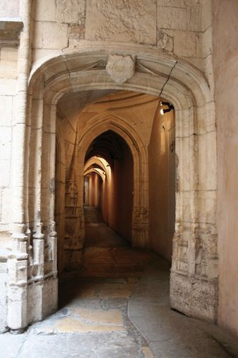 vieux Lyon traboule Saint-Jean Guide du promeneur de Lyon Nicolas Jacquet Visite