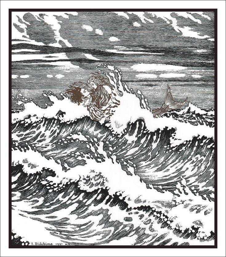 The Little Mermaid ~ I. Bilibine, 1937**