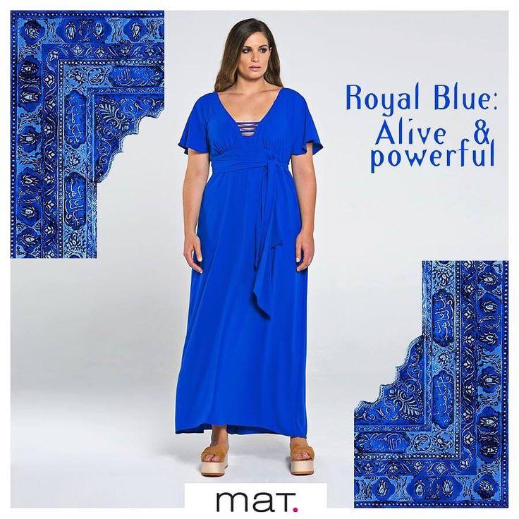 Αυτό το αέρινο & θηλυκό μάξι φόρεμα μας θυμίζει γιατί είναι τόσο δημοφιλές το εντυπωσιακό και συγχρόνως classy μπλε ρουά!  Aγορά ➲ code: 671.7403 #matfashion #royalblue #dress #psblogger #realsize #collection
