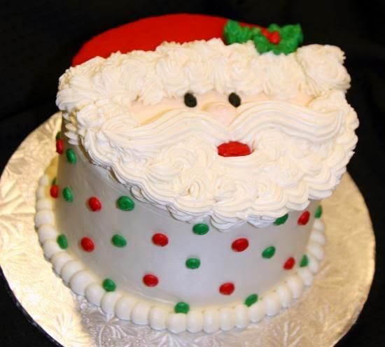 Great idea For a Christmas Cake....