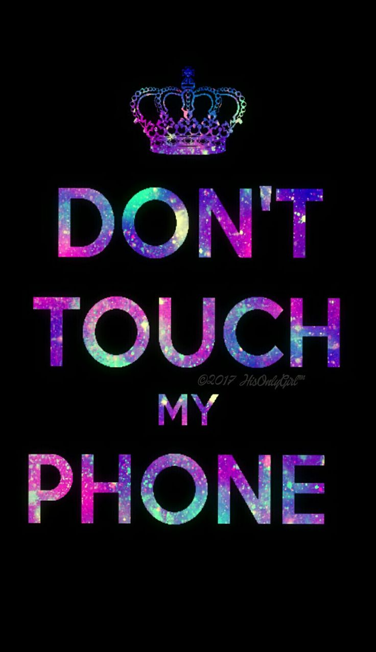 Don't touch galaxy wallpaper I created for the app CocoPPa!