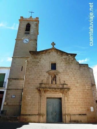 Iglesia de Santa María Magdalena en Benitachell