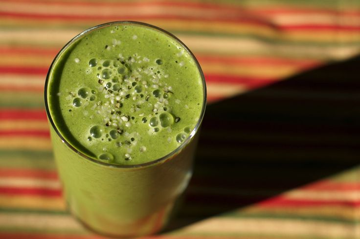 peanut butter and spinach smoothie