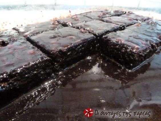 Σοκολατόγλυκο της Αργυρώς #sintagespareas