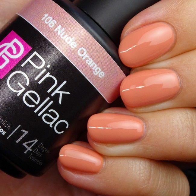 Smalto semipermanente - 106 Nude Orange 15 ml