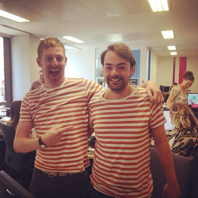 stripey mondays at TM HQ