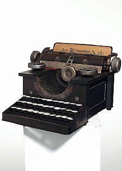 DCSE Typewriter, metal, vintage decoration / γραφομηχανή