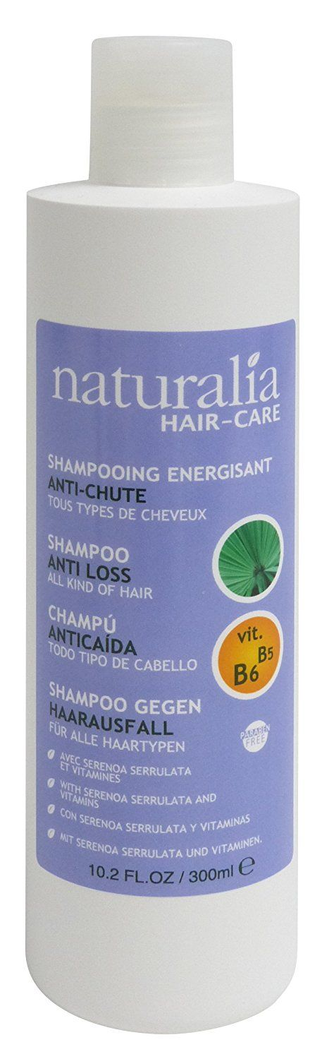 NATURALIA Serenoa Serrulata, With Vitamin B5 B6 Shampoo Anti Hair Loss, 300Ml * This is an Amazon Affiliate link. Click on the image for additional details.
