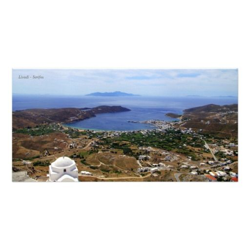 Livadi – Serifos Photo Card