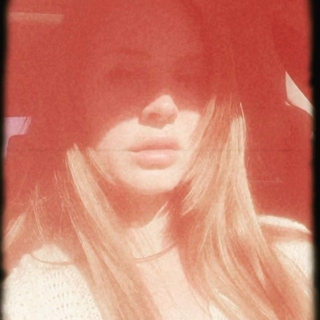 """Lana Del Rey posted a video of her singing to """"L$D"""" by ASAP Rocky with the caption: """"Rocky"""" #LDR #selfie"""