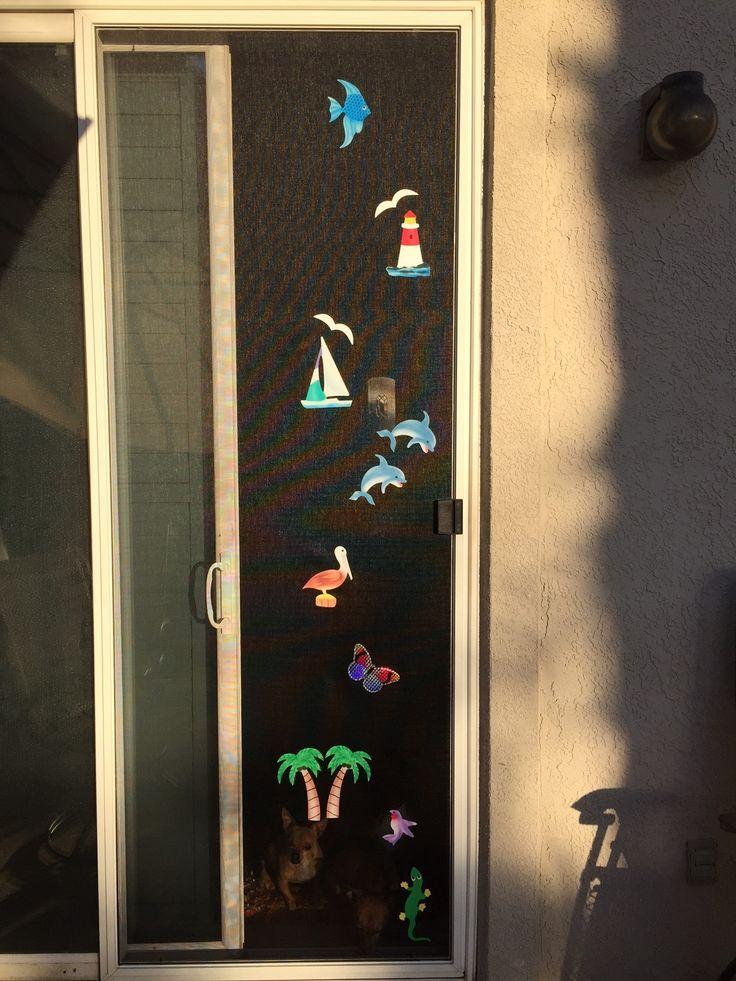 Magnetic Patio Door Screen Savers