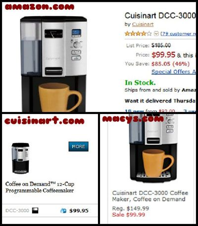 Holiday Shopping Tip: How to buy a coffee maker and save