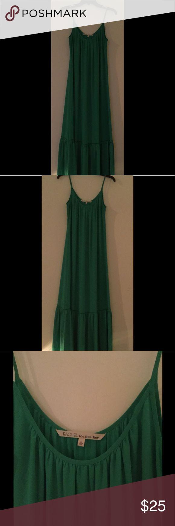 Rachel roy green maxi dress