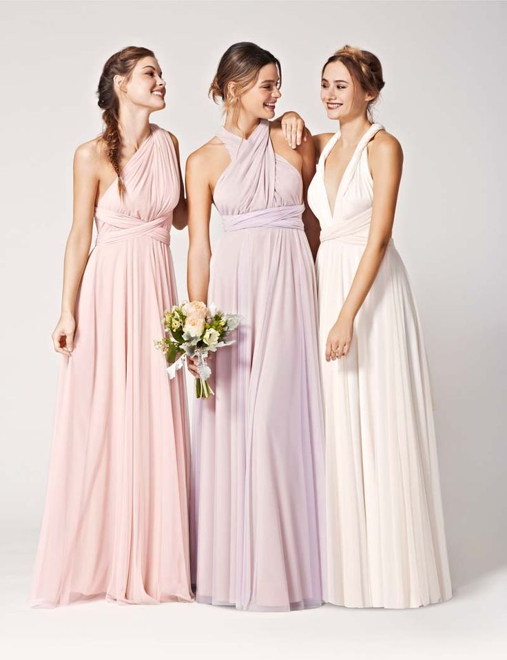 The Twobirds multiway tulle gown is suitable if you're looking for a versatile dress for your girls