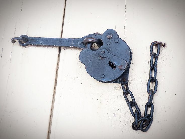 A Single Old Padlock by Leslie Montgomery