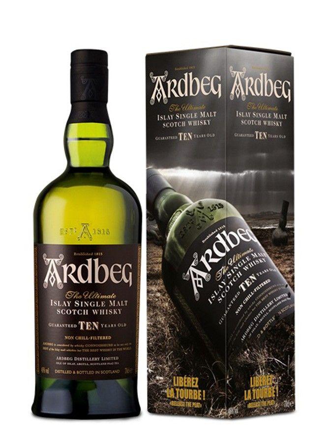 Whisky ARDBEG 10 ans Liberez la Tourbe 46% - La Maison du Whisky