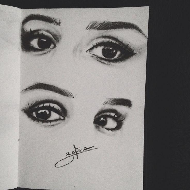 Eyes, make up, illustration, drawing, art, graphic, artist, inspiration
