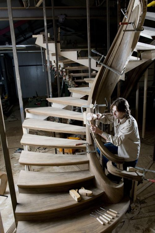 Jop van Driel works with wood. It has resistance and does not want to be shaped like I have borne in mind how it should be. Every day I am busy 'taming' the wood just like a horse (in its heart a horse doesn't want to be tamed). When you have been working with a natural material as long as I, you recognize its unbelievable beauty, you just can't help being in awe of nature.