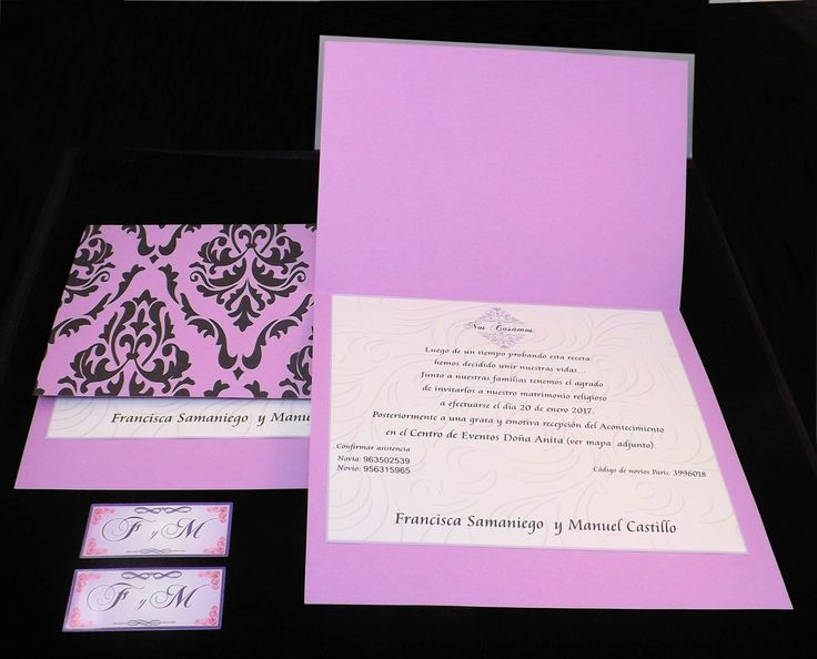 Partes de Matrimonio solicitados por Francisca Samaniego y Manuel Castillo Diseños e Impresiones Peña #dimpena #valparaiso #chile #partesdematrimonio #invitationwedding