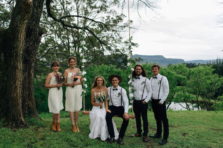 Shawn & Ellie Wedding  Kangaroo Valley, NSW, AU  Bridal Party