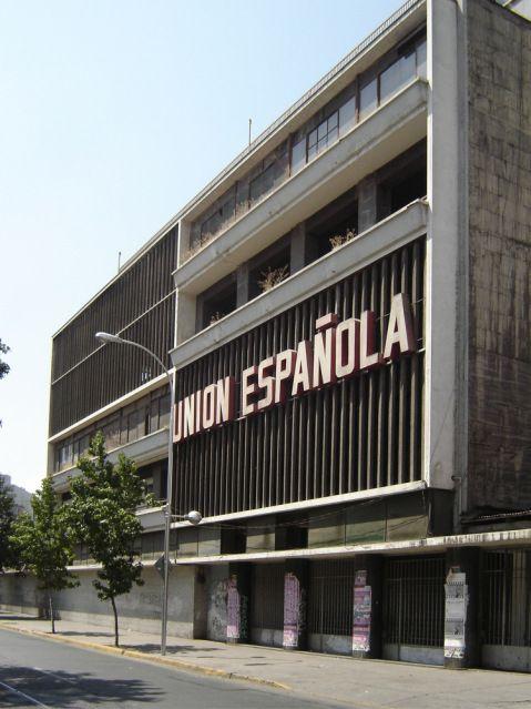 Edificio Sede Unión Española / José Llambías –  1950