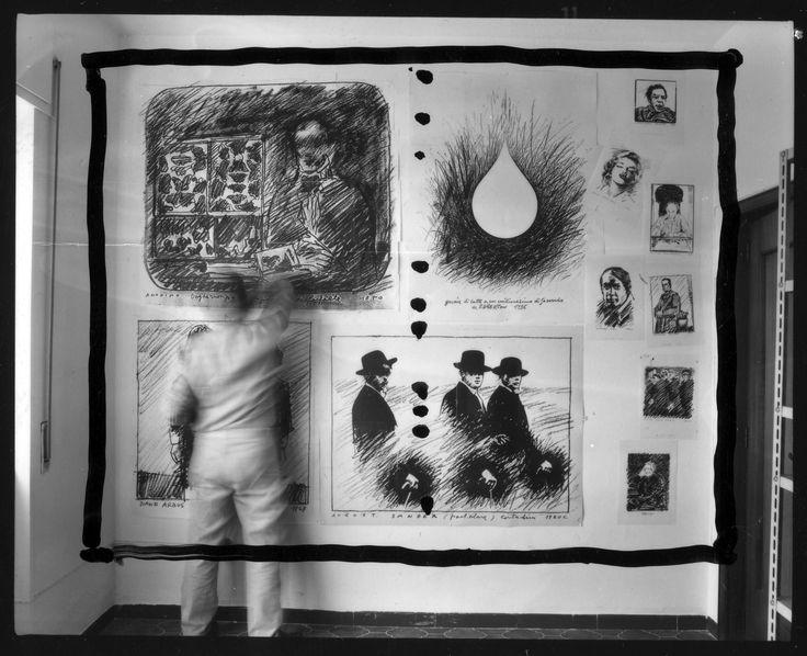 1987, Mario Cresci, Copia di copia. Provino