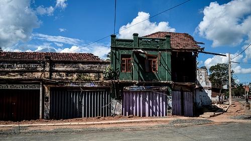 Colonial houses - Anuradhapura, Sri Lanka