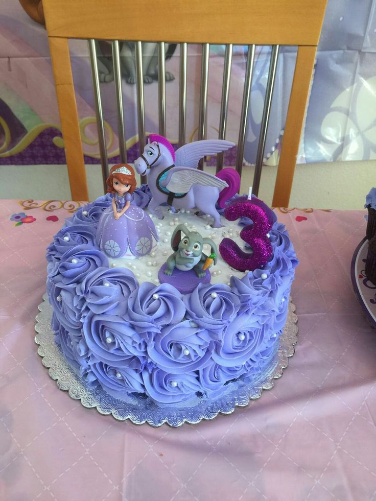 Sofia the first cake                                                                                                                                                                                 More