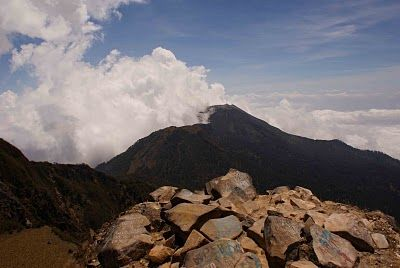Gunung Arjuno (3339 m), Jawa Timur, Indonesia