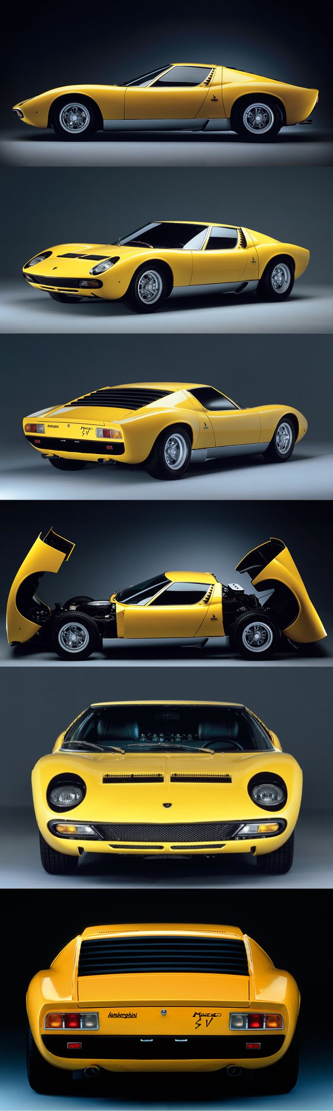 1971 Lamborghini Miura LP400 SV / 380hp V12 / Italy / yellow