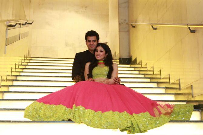 Delhi weddings | Ankit & Gurveen wedding story | Wed Me Good