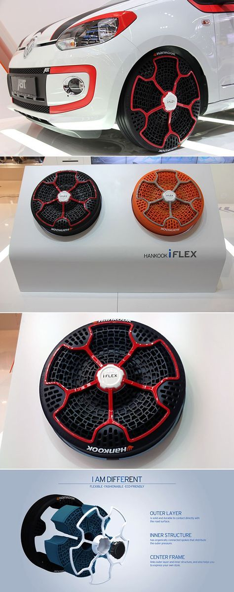 Hankook iFlex Airless Tires are Puncture Proof, Made from 95% Recyclable Materials