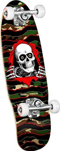 Powell-Peralta Micro Ripper 05 Complete Skateboard, Green/Black/Red Powell-Peralta sale 3 am 11/21