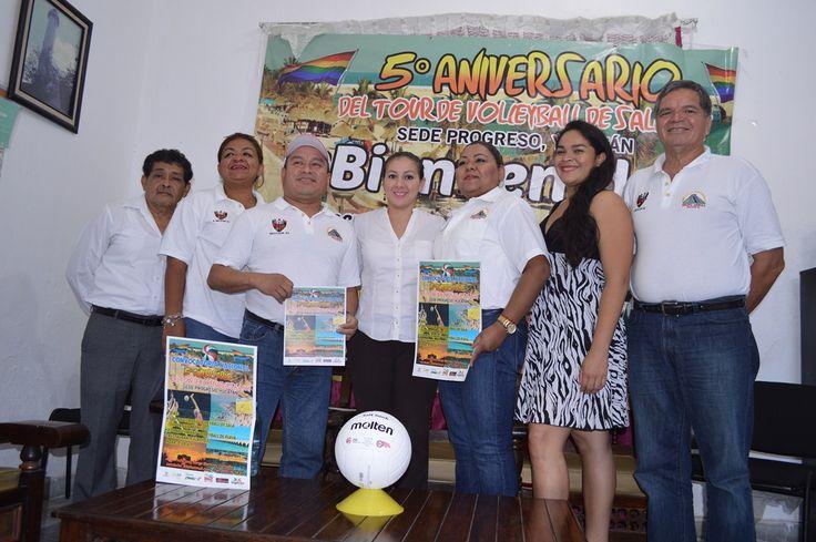 Progreso sede del 5to. Aniversario del Tour de Voleibol de Sala Gay