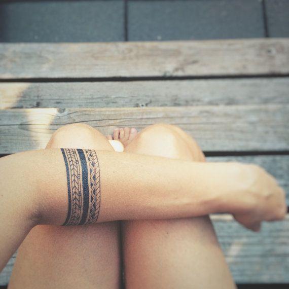 Nice temporary tattoos by Les Tatoués