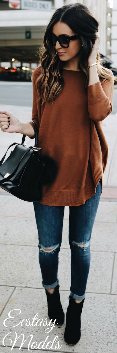 Feeling Fall // Fashion Look by Somewhere Lately
