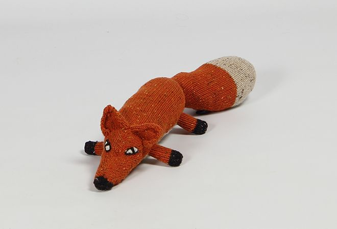 Shop | Design and Craft | Gifts | Makers&Brothers | Makers & Brothers | FIonn the Fox | Baby | Teddy Bear | Knitting | Knitted | Claire Anne O'Brien