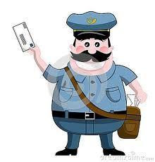 caracterizo-el postmaster: el jefe de correos es una , y agradable hombre inteligente.