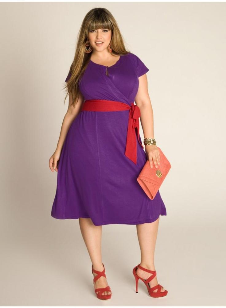 Kelsey Wrap Dress in Grape. IGIGI by Yuliya Raquel. www.igigi.com