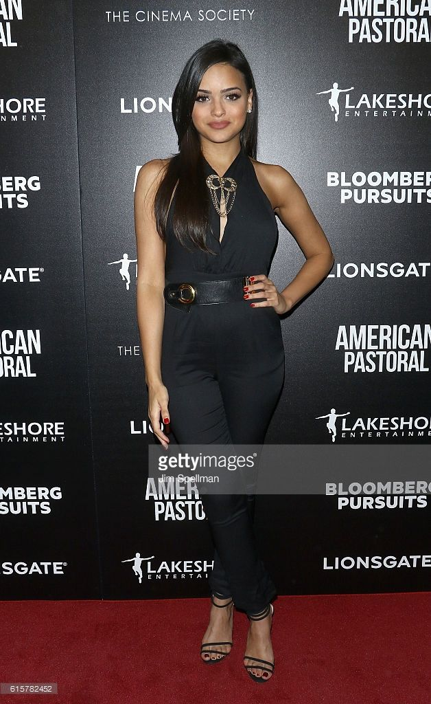 Lisa Ramos attends the screening Of 'American Pastoral' hosted by Lionsgate and Lakeshore Entertainment with Bloomberg Pursuits at Museum of Modern Art on October 19, 2016 in New York City.