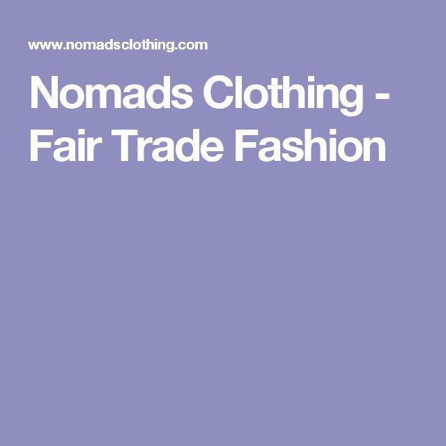 Nomads Clothing - Fair Trade Fashion