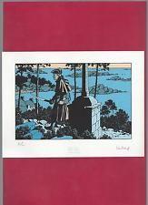 JUILLARD (BLAKE ET MORTIMER) BARBE-ROUGE (SERIGRAPHIE N°/Signé) NEUF