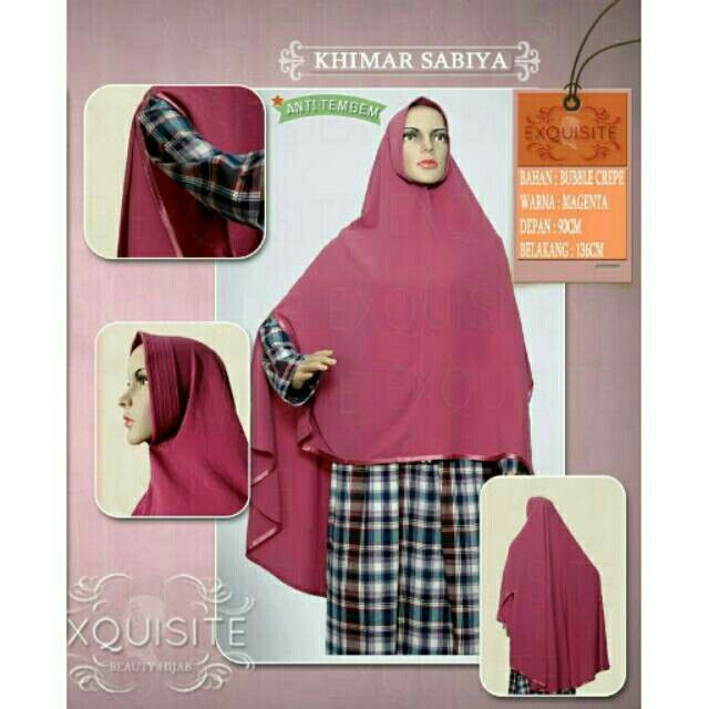 Saya menjual Khimar instan sabiya bahan bubble crepe pet anti tembem seharga Rp175.000. Dapatkan produk ini hanya di Shopee! https://shopee.co.id/exquisite.beautyhijab/255261133/ #ShopeeID