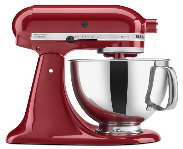 Best Stand Mixer review no. 1. KitchenAid KSM150PSER Artisan Stand Mixer. It's been the same for decades: most serious cooks want a KitchenAid. And there are very good reasons to want the company's Artisan stand mixer. It features the same impeccable design and construction as earlier Classic models, but has a larger five-quart bowl and a more powerful 325-watt motor.
