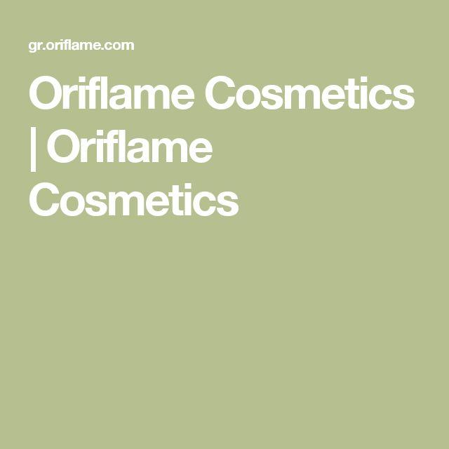 Oriflame Cosmetics   Oriflame Cosmetics