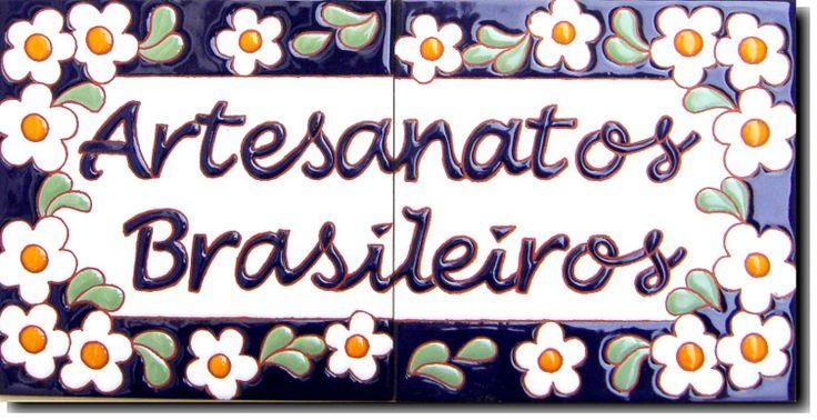 Azulejos em Cerâmica - Texto